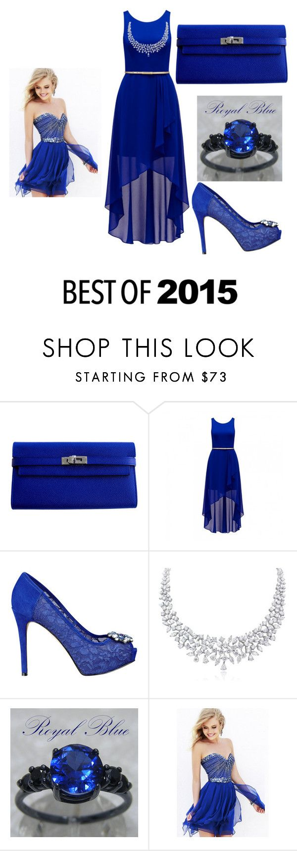 """Best of 2015"" by keziahjohnson ❤ liked on Polyvore featuring mode, Hermès, Forever New en GUESS"
