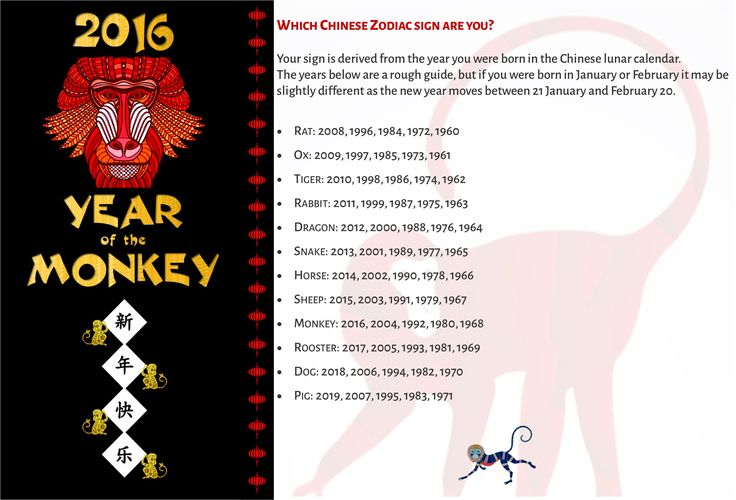 2016 chinese new year year of the monkey - Chinese New Year 1966