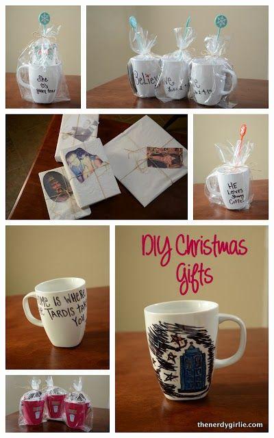 The Nerdy Girlie: Handmade Christmas Presents #DIY