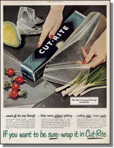 Cut-Rite Wax Paper (1951).