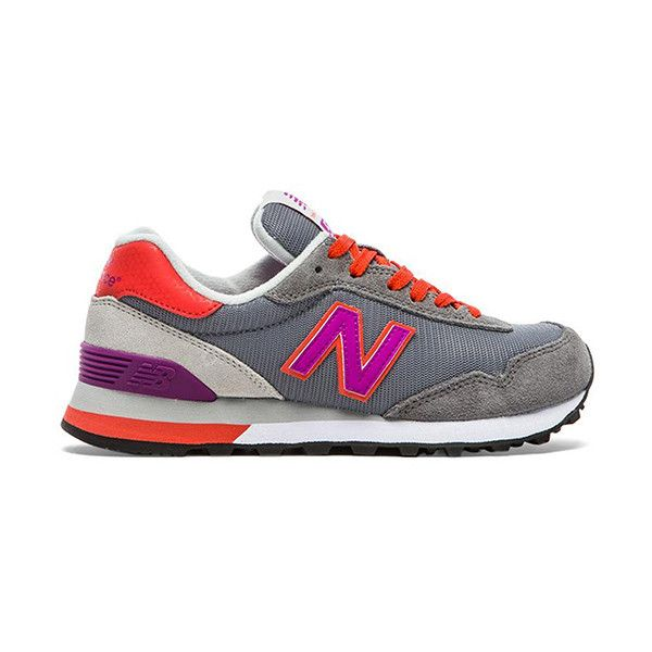 New Balance Modern Classics Sneaker Shoes (96 AUD) ❤ liked on Polyvore featuring shoes, sneakers, rubber sole shoes, real leather shoes, new balance, leather lace up sneakers and new balance trainers