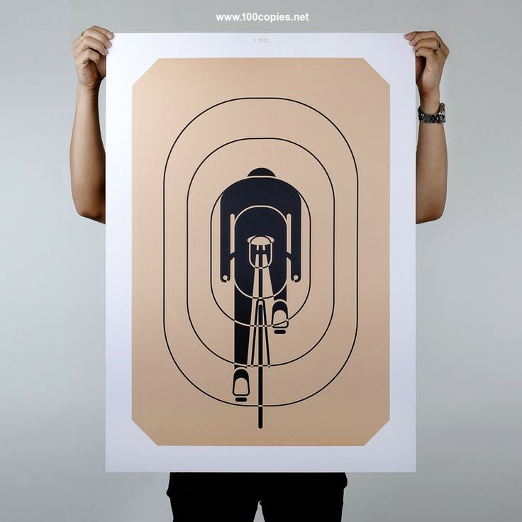 Aim For Glory by Thomas Yang: 100Copi Posters, Posters Prints, Cycling Graphics, Art Prints, 100Copi Bicycles, Thomas Yang, Bicycles Art, Bike Art, Bike Stuff