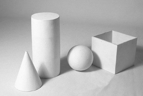 shading basic forms lesson and rubric