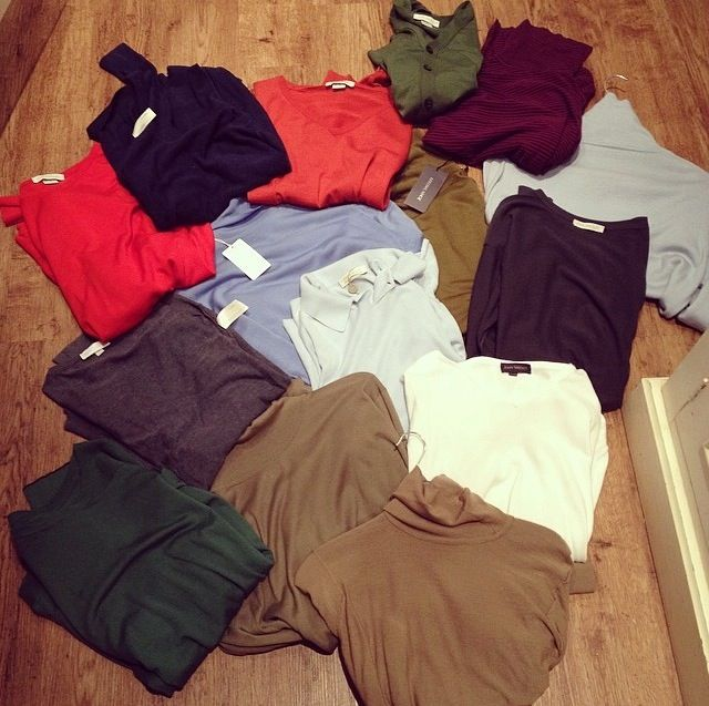 You can never own too much John Smedley knitwear! #JohnSmedley #ShareYourStyle