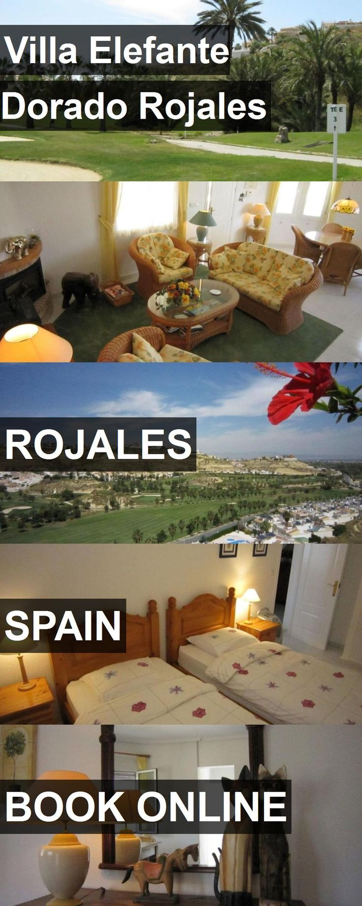 Hotel Villa Elefante Dorado Rojales in Rojales, Spain. For more information, photos, reviews and best prices please follow the link. #Spain #Rojales #VillaElefanteDoradoRojales #hotel #travel #vacation