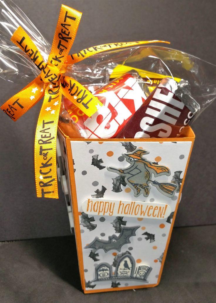 stampin up cookie cutter halloween popcorn die - Stampin Up Halloween Ideas