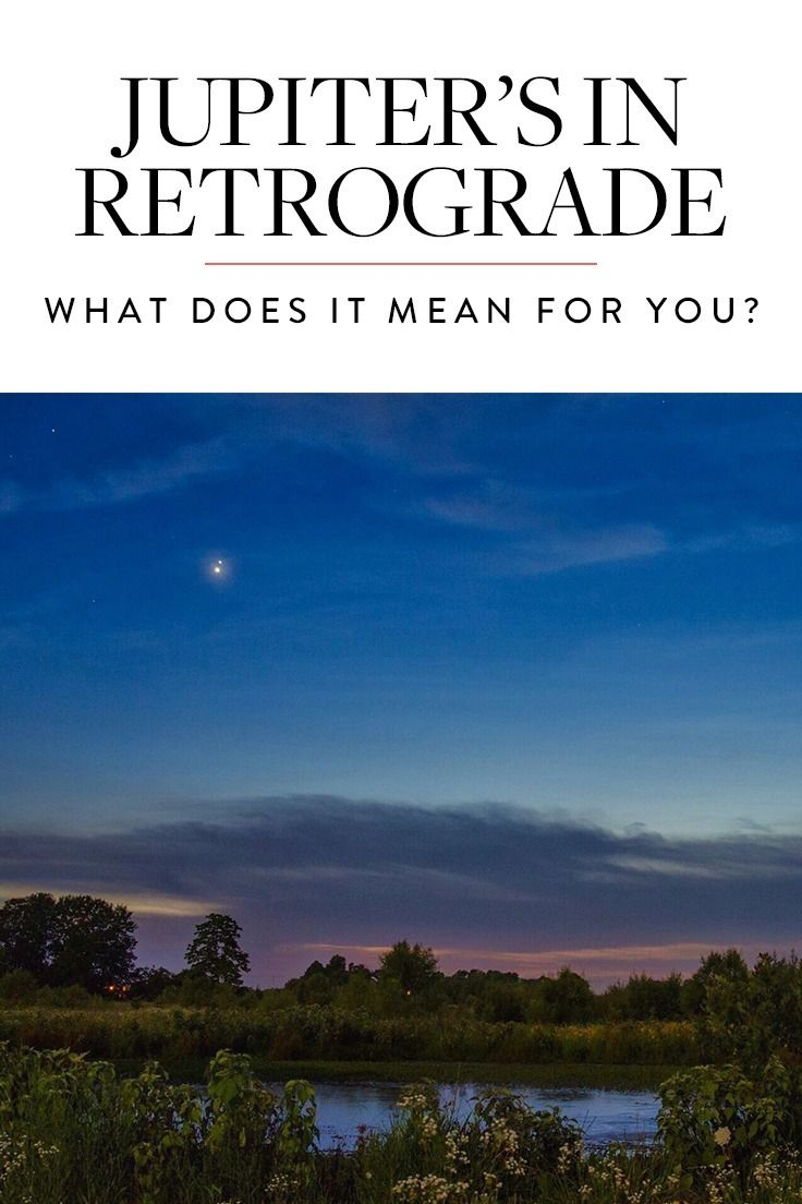 Jupiter s in retrograde and it might actually be a good thing
