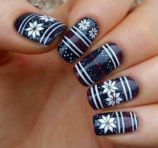 cool nail art ideas and hot new polish colors.