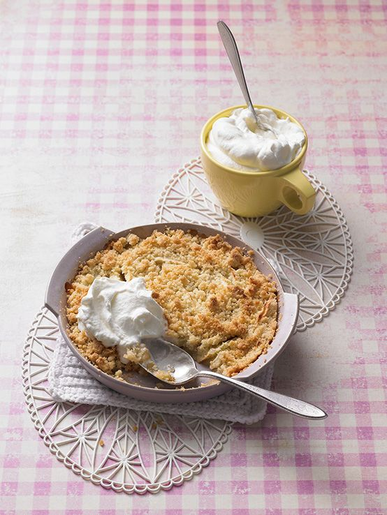Knusprig-warmer Apple Crumble