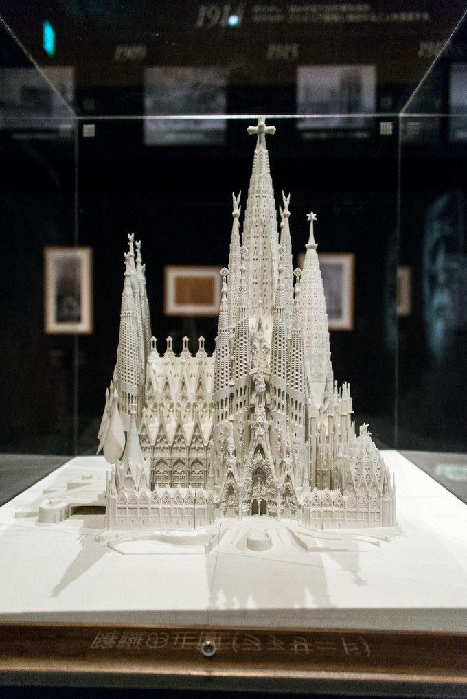 サグラダ・ファミリア建築模型