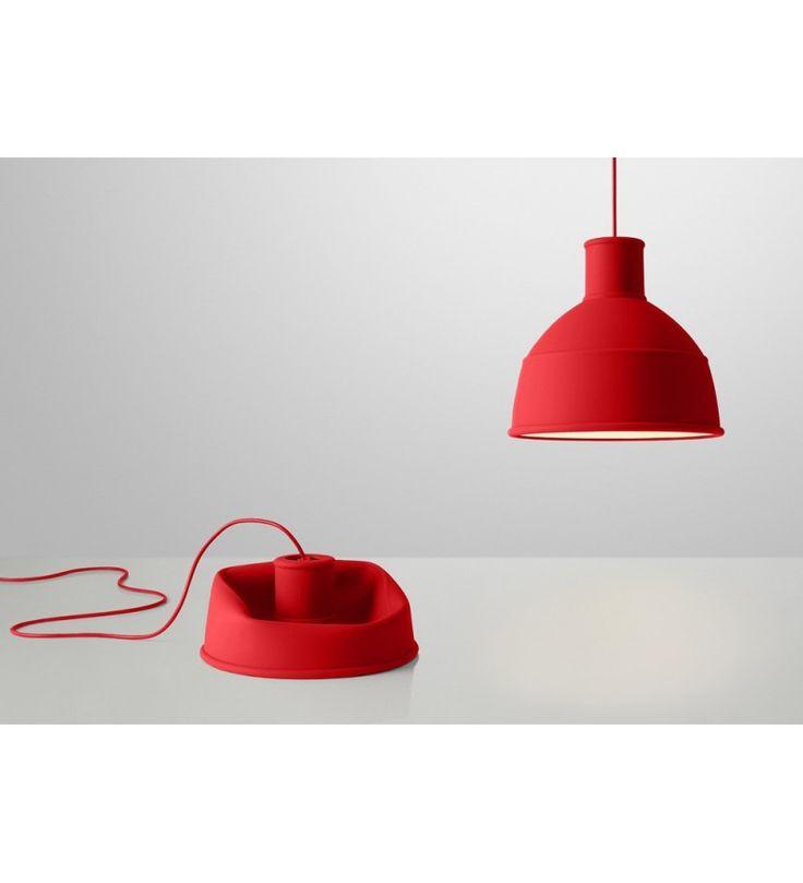 Lampa z silikonu Unfold Muuto - różne kolory - Pufa Design