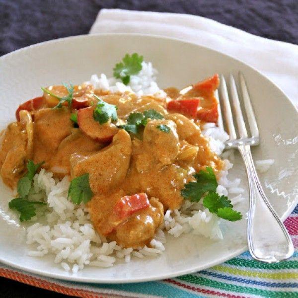 Mat På Bordet | En matblogg med oppskrifter fra morgen til kveld | Enkel kylling curry til hverdagen