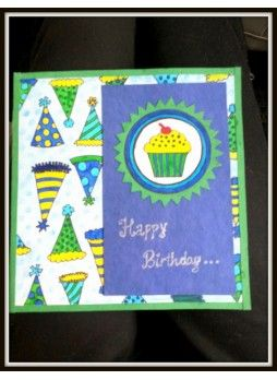 Card Painting for Birthday