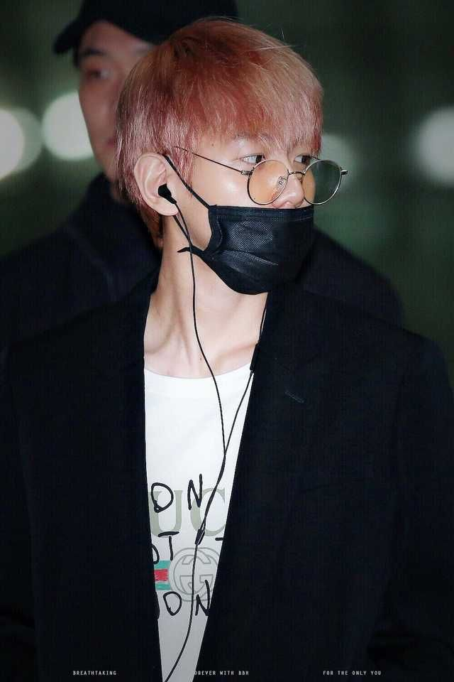 [HQ] 180302 Baekhyun  Incheon Airport