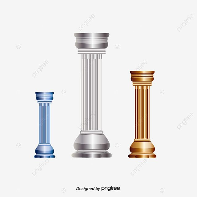 Pillar Column Cylinder Png And Vector With Transparent Background For Free Download Pillars Photo Album Design Transparent Background