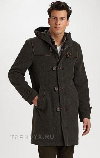 Фотографии модных мужских пальто