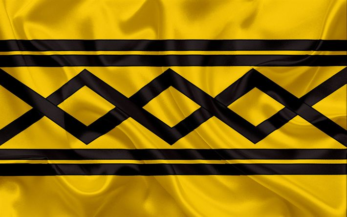 Scarica sfondi Contea di West Midlands, Bandiera, Inghilterra, bandiere delle contee inglesi, Bandiera del West Midlands, British Contea di Bandiere, di seta, bandiera, West Midlands
