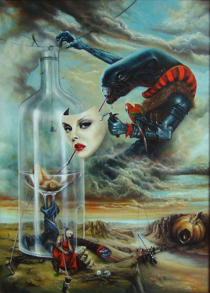 """This is my newest addition to the Surreal works. Alternative title can be also """"Vanitas Vanitatum Vanitas"""" Leave a comment if you like it..."""