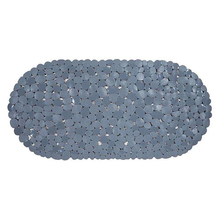 Pebble Grey Bath Mat | Dunelm