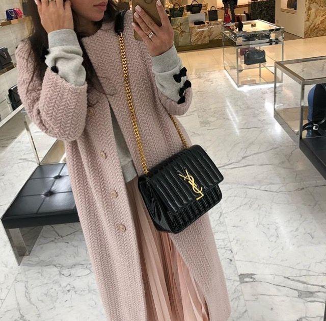 65f3e44e5b2 Yves Saint Laurent Vicky black bag | Fashion in 2019 | Yves saint ...
