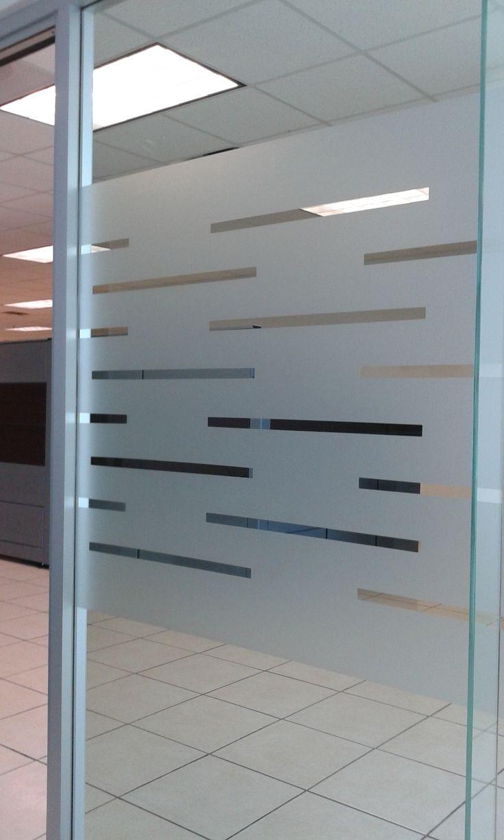 Esmerilado vinil vidrio esmerilado pinterest for Papel para oficina