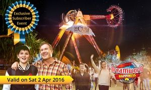 Groupon - $ 39 Entry to Exclusive Easter-Time Event with Rides, Attractions & Entertainment at Dreamworld ($95 Value) in Coomera. Groupon deal price: $39
