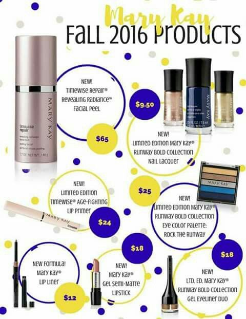 MK Fall 2016 products www.maryky.com/ktuckness  or call or text 830-613-6592