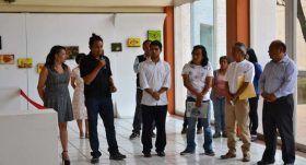 Artistas mexicanos exponen en UABJO su visión sobre la cotidianidad de la gente
