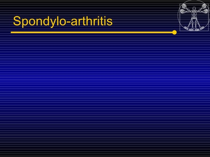 5spondyloarthropaties Seronegative Arthritis by Miami Dade via slideshare