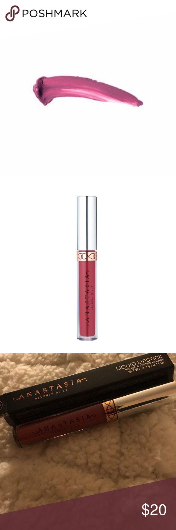 Anastasia BH liquid lipstick -CATNIP  -blush rose pink lipstick super cute !  -bought at Sephora but never used ! Anastasia Beverly Hills Makeup Lipstick