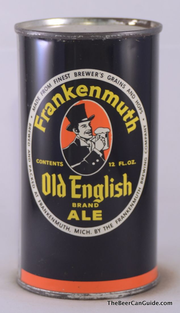 Frankenmuth Old English Ale Flat Top Michigan