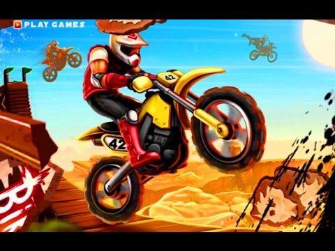 Bike Rivals Игры гонки на байке Мультики для детей