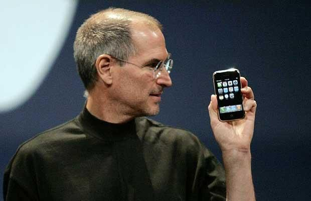 2007: Steve Jobs invented the iPhone because he wanted to make the first hand-held computer. The iPhone changed the world be making it easy to use your computer but on a portable device.