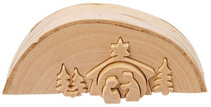 mini nativity puzzle.