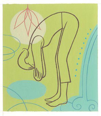 3 soothing yoga moves #AquaSpaBath #DreamOn