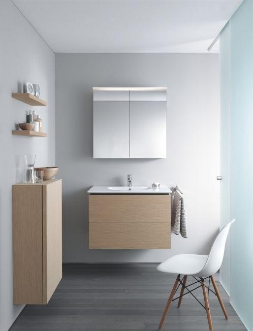 Elegantes Badezimmer-Ambiente mit Delos von Duravit | Tischlerei Struckmeier | Drakenburg | nähe Nienburg an der Weser