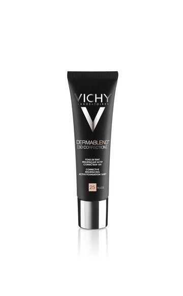 Das neue Vichy Dermablend Make-up (ca. 18 Euro) deckt Aknenarben ab und den Teint zuzukleistern. We like!