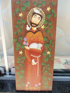 Meimei Patch: Esta é uma das minhas pinturas, São Francisco de A...
