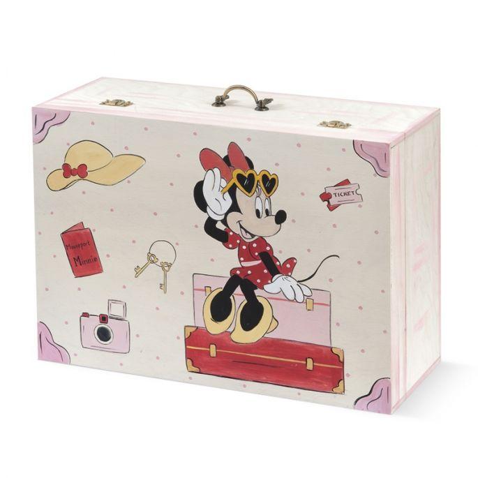 Κουτί Βάπτισης Minnie Travel - ΠΑΡΙΣΗΣ   Είδη γάμου & βάπτισης