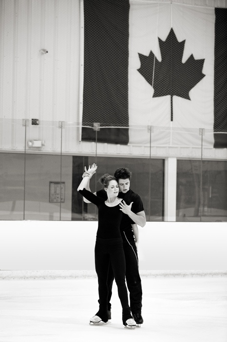 Canadian Olympic gold medal ice dancers Tessa Virtue and Scott Moir - September 2009 - my favourite athletes!