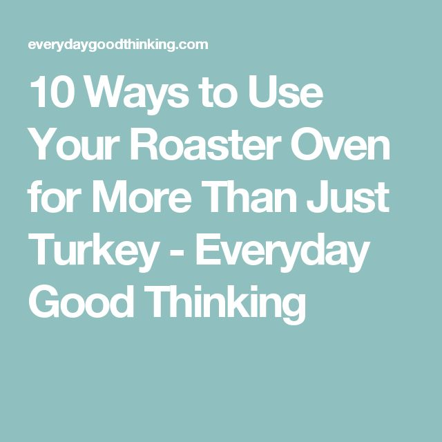 100 Roaster Oven Recipes On Pinterest