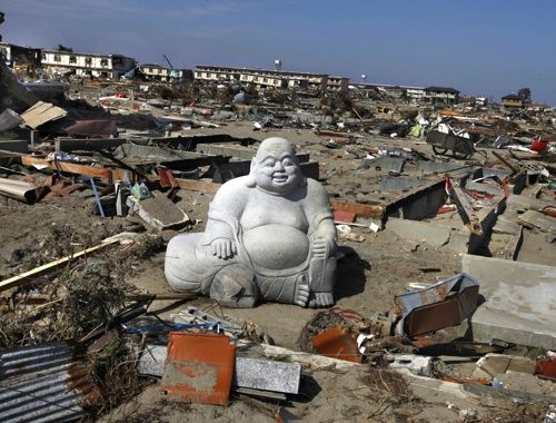 Buddha after tsunami