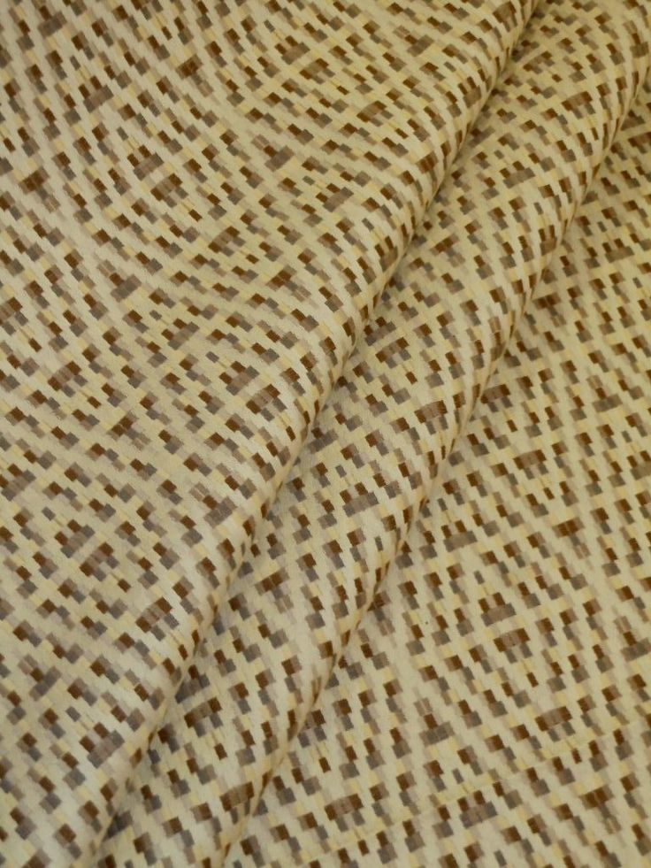 ... Color Multi (browns, Grays, Pale Yellow, Cream), Upholstery Fabric,  Heavy, Very High End Premium Fabric For Furniture Upholstering And Home ...