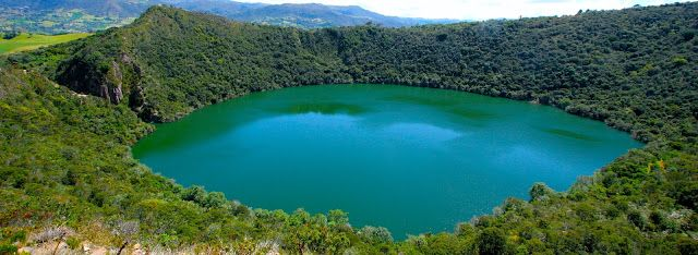 EN BUSCA DE LOS TESOROS PERDIDOS: El tesoro de la laguna Guatavita