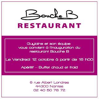 Bouche B, flyer - Label communication
