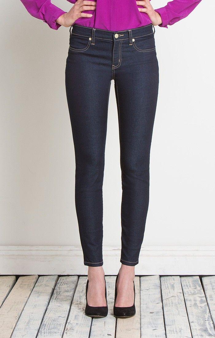 Frauen skinny jeans