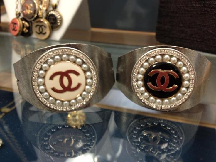 Chanel Button Cuff