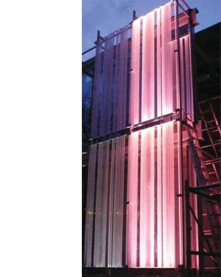 Illuminated structure- Reiss