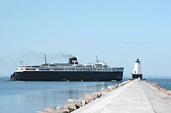 ludington michigan | Badger - Historic Lake Michigan Carferry - Pure Michigan Travel