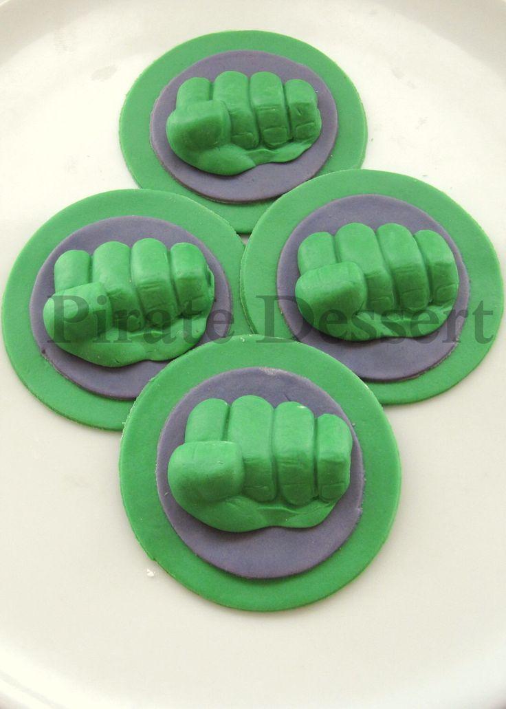 Il toppers cupcake incredibile HULK supereroe commestibile Toppers Cupcake - cupcakes Avengers - fondente - fumetti, film Cupcakes (6 pezzi) di PirateDessert su Etsy https://www.etsy.com/it/listing/124069344/il-toppers-cupcake-incredibile-hulk